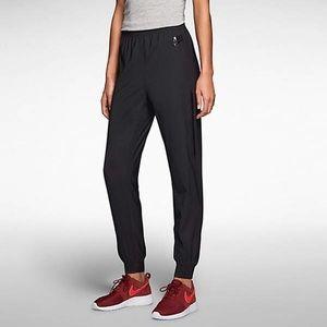 Nike Black Bonded Woven Tech Pants Joggers Size XS